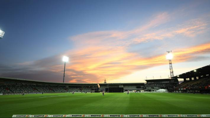 International cricket returns to Napier's McLean Park for the first time in two years, since a T20  against Bangladesh, when New Zealand meet India on Wednesday.