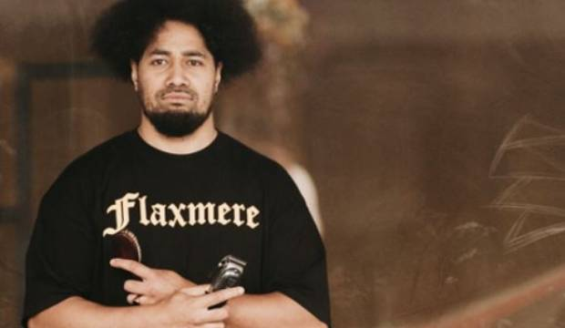 The Barber features Flaxmere resident Peleti Oli-Alainu'uese and the Māori and Pacific community of men and women who ...