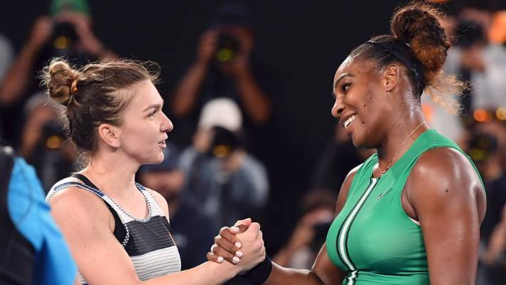 Karolina Pliskova reacts to saving four match points in Serena Williams victory
