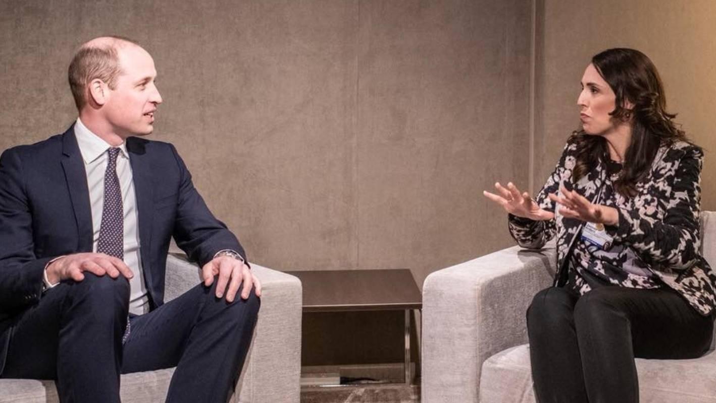Jacinda Ardern Detail: PM Jacinda Ardern Pumps NZ's 'wellbeing Budget' At World