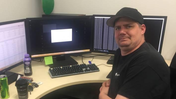 Christchurch-based Cryptopia co-founder Rob Dawson.