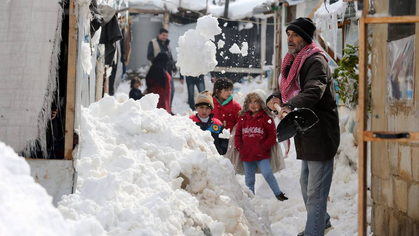 UNICEF: Storms wreck havoc in Lebanon, battering refugee camps