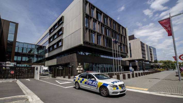 Man accused of disturbances outside Christchurch mosque heading to trial