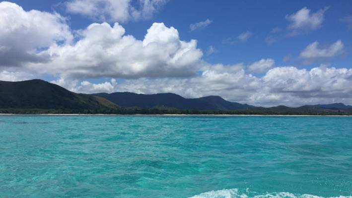 Getting out on the world's largest marine park.