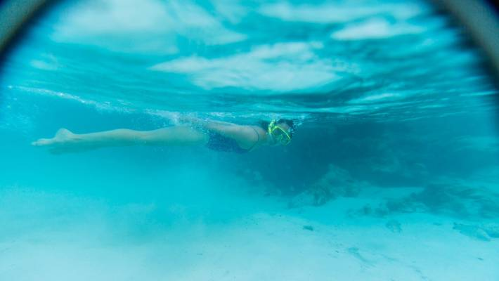 New Caledonia is ideal for snorkelling.