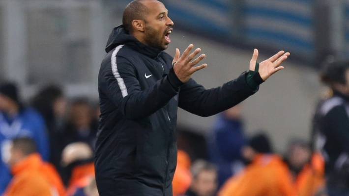 Monaco suspends Thierry Henry from managerial duties