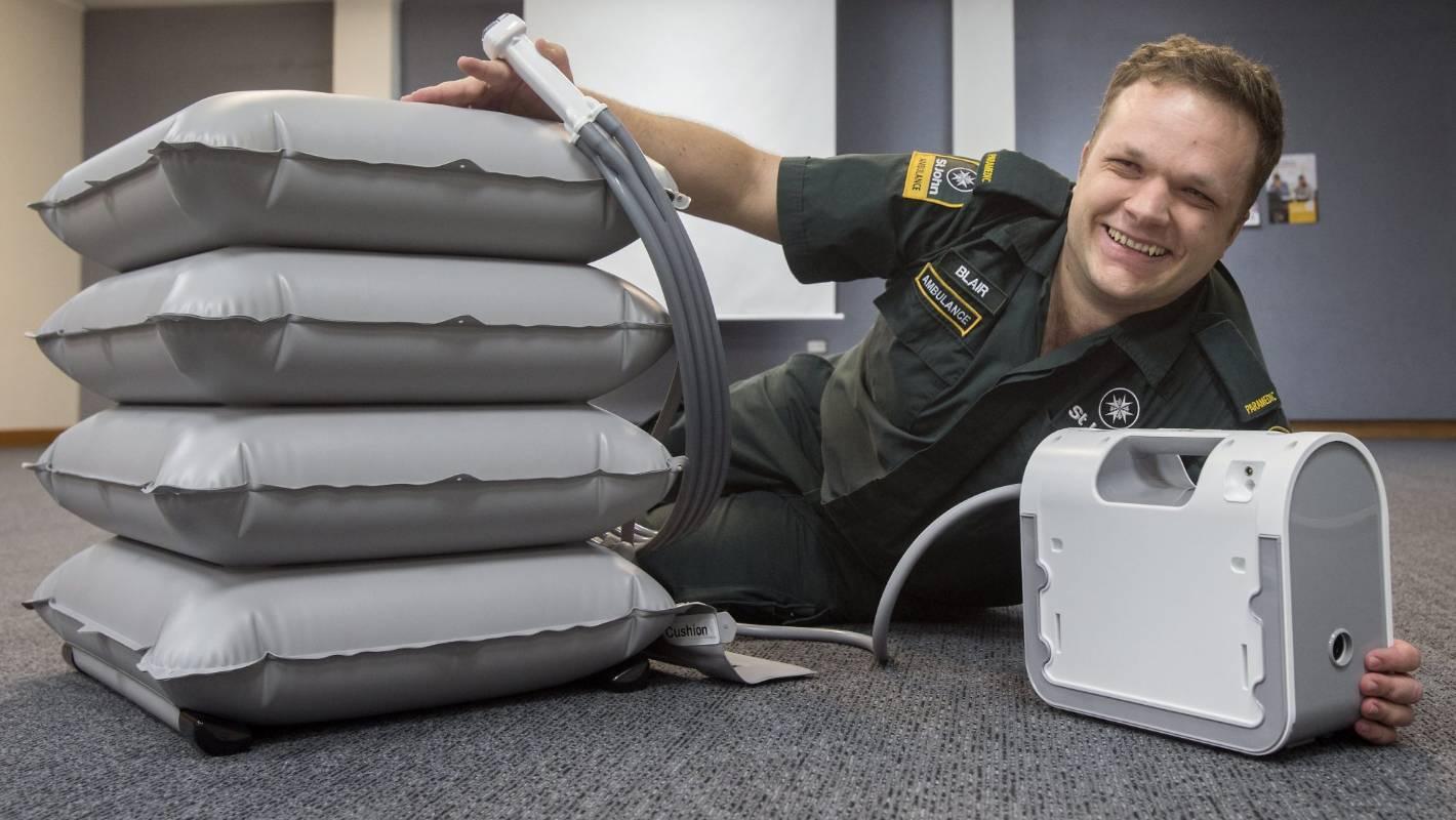 Two Emergency Lifting Cushions Donated To Region S St John Ambulance