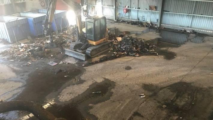 Fire At Marlborough Waste Centre Prompts Warning Stuff Co Nz