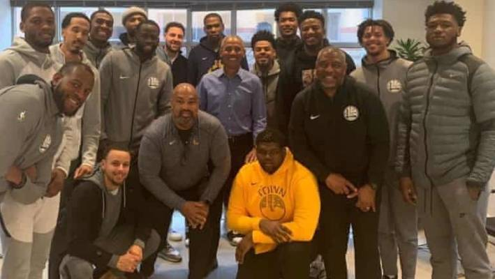 b7adf5057bdd Golden State Warriors meet with Barack Obama instead of Donald Trump ...