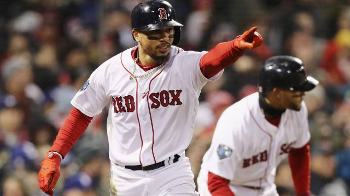 Reigning AL MVP Mookie Betts won't visit White House with Red Sox