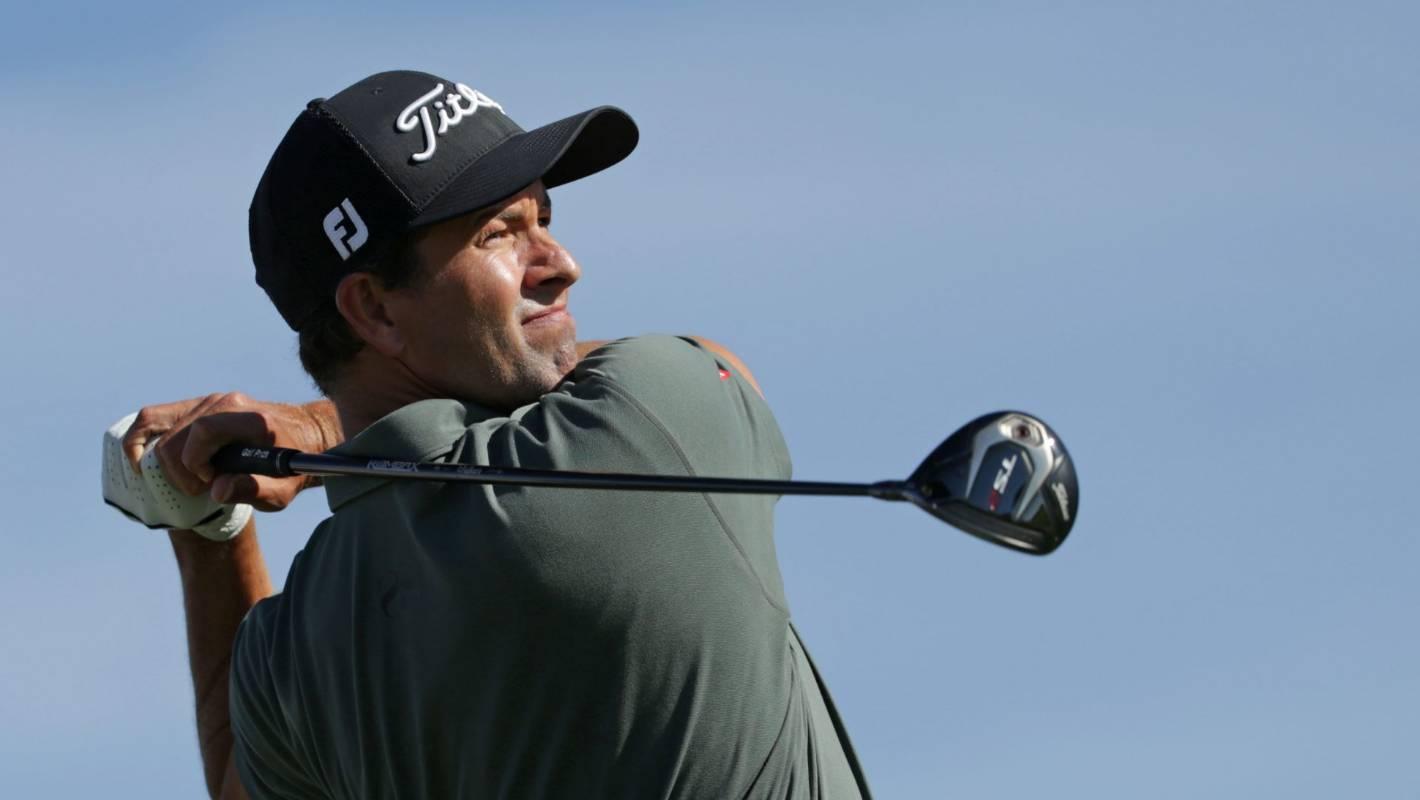 8d791de336c Chairs mate  Adam Scott gets lucky break on PGA tour