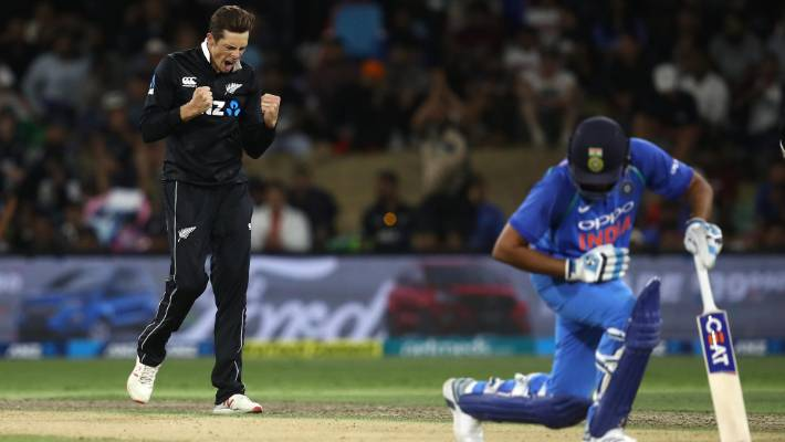 New Zealand vs India on January 31