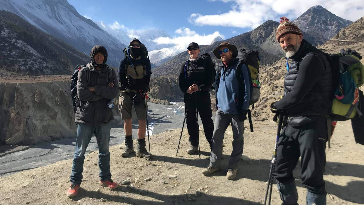 Kiwi grandfather's life-changing 200km trek in Nepal