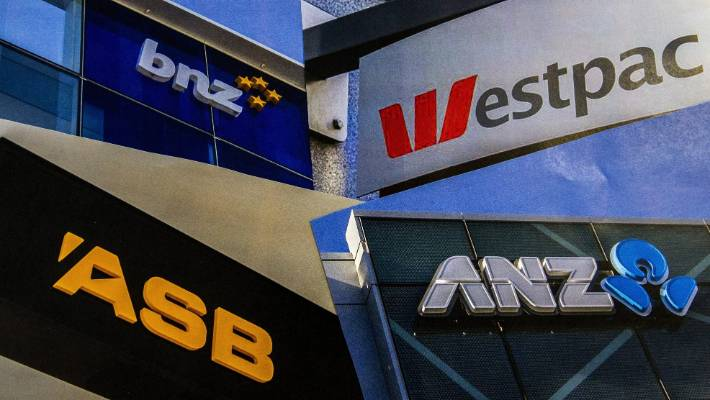 Each of New Zealand's four big banks is owned by one of four large Australian banks.