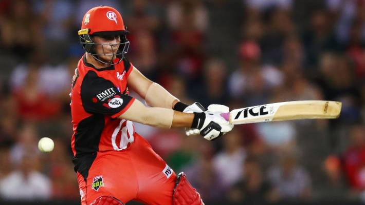 Melbourne Renegades batsman Cameron Boyce took only 22 balls to reach 50 against the Thunder.