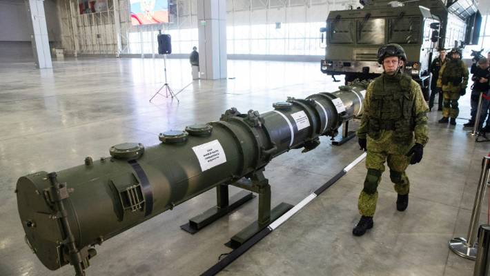 US bolts Cold War missile treaty as Russia warns of arms race