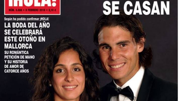 Rafael Nadal engaged to long-time love Mery Perelló
