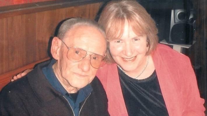 Author Heather Morris with Holocaust survivor Lale Sokolov.