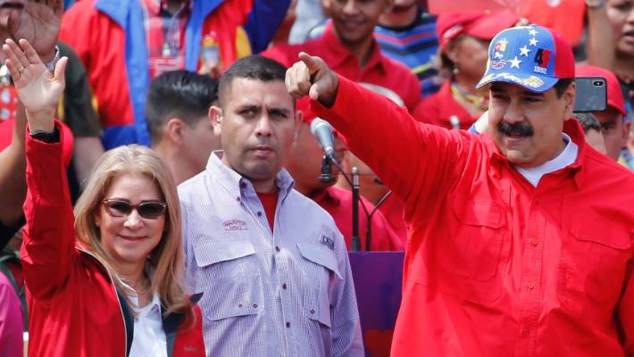 Venezuela's Interim President Accuses Maduro of Intimidating His Family