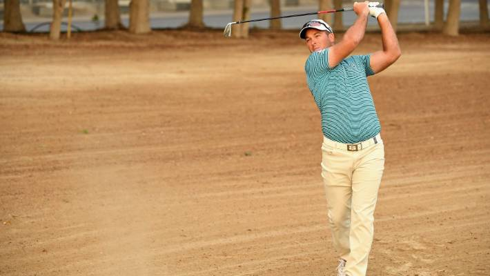 Ryan Fox, the photo at the Classic Desert Dubai, has tied for a fourth after three rounds in Saudi International.