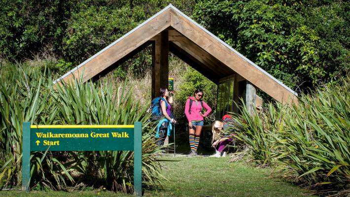 The Lake Waikaremoana Great Walk is a popular 44-kilometre walk.