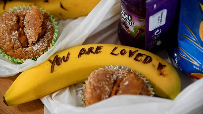 Meghan Markle's inspirational banana messages branded 'offensive' by sex worker