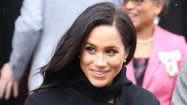 The ridiculous reason Meghan Markle always has to stand behind Kate Middleton