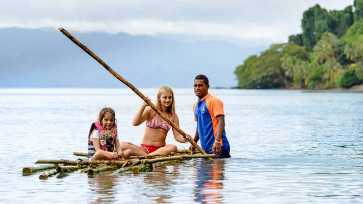 Fiji is well known for being family friendly.