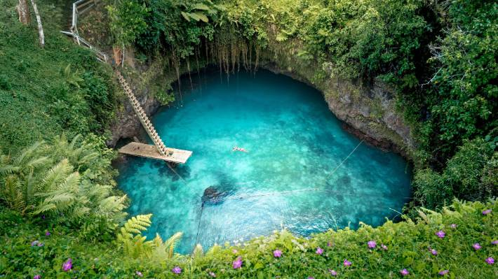 There are plenty of cheap accommodation options in Samoa - and loads of free or cheap attractions.