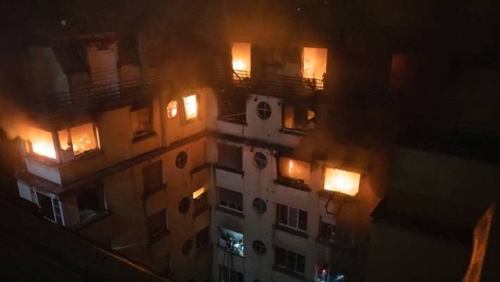 Paris apartment fire kills 7, injures many