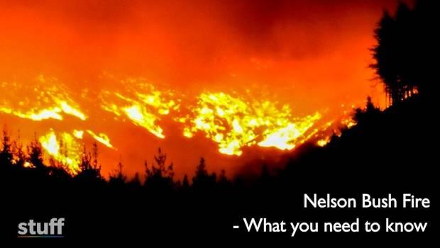 Nelson bush fire New blaze as crews fight horrendous wildfire