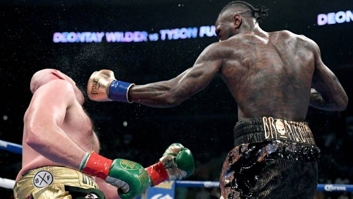 Deontay Wilder says he isn't surprised Tyson Fury doesn't want a rematch with him right now.