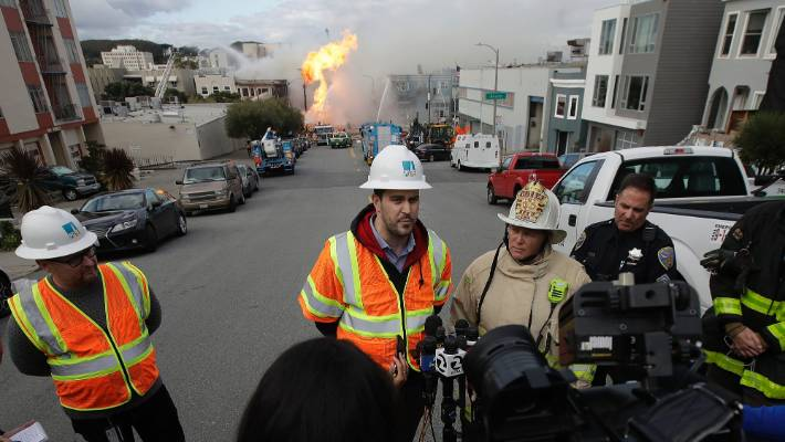 PG&E Contains Gas Leak That Caused San Francisco Explosion