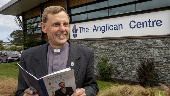 Carrell will be installed as bishop on Saturday afternoon at 3pm in front of the ruined Christ Church Cathedral.