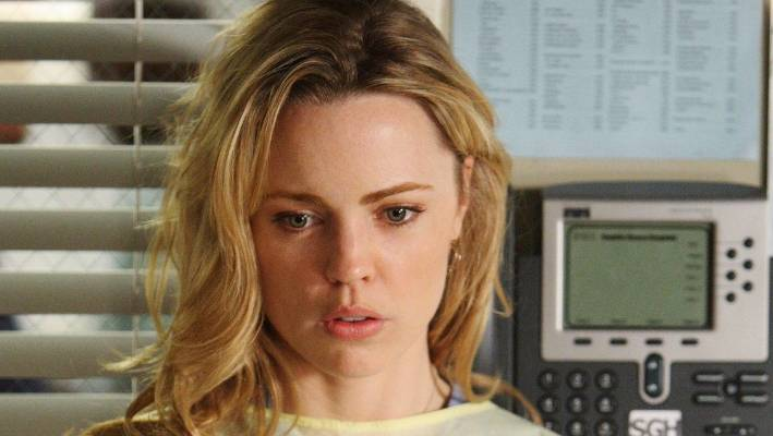 Melissa George had a short stint on Grey's Anatomy during the 2008-09 season.
