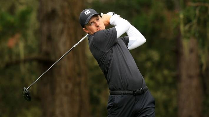 Tony Romo hits wonderful  shot at Pebble Beach pro