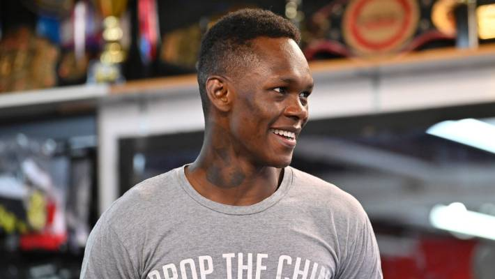 Israel Adesanya Makes Case For Middleweight Title Shot