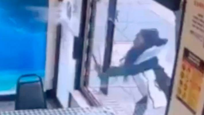 Jamaican eatery runs out of patties, angry customer smashes windows