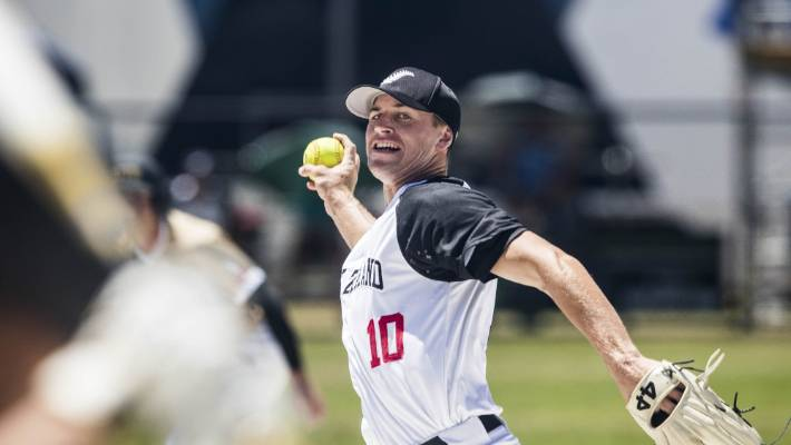Black Sox pitcher Daniel Chapman has been selected for his first senior world softball championship team.