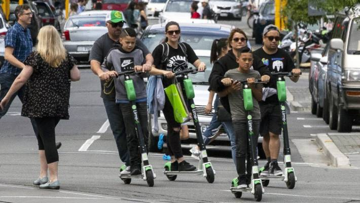 More than 100,000 people have used Lime scooters in Christchurch since October.