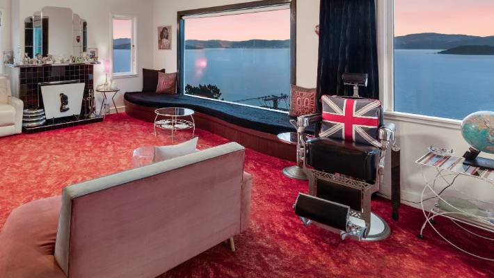 Debs Smith has overseen the layout of the lounge.