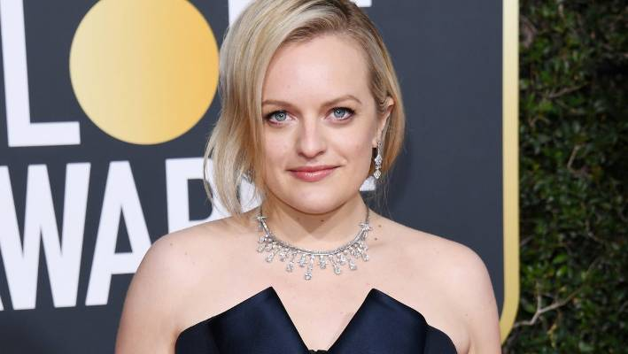 Elisabeth Moss used her Golden Globes red carpet walk to launch Red Carpet Advocacy, which asks for charitable donations from designers worn on the red carpets.
