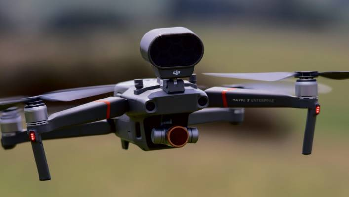 Drones can be used for everything from checking on stock to surveying and spraying.