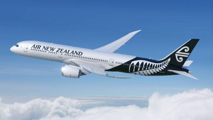 Air New Zealand flies Boeing 787-9 Dreamliners to both Taipei and Shanghai.