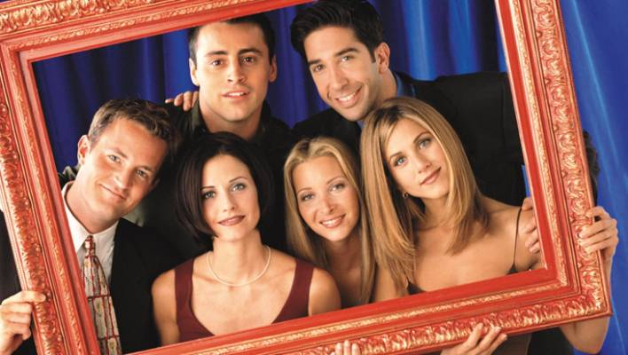 Many fans compare the relationship between Brad Pitt and Jennifer Aniston with that of her sitcom Friends from the nineties.