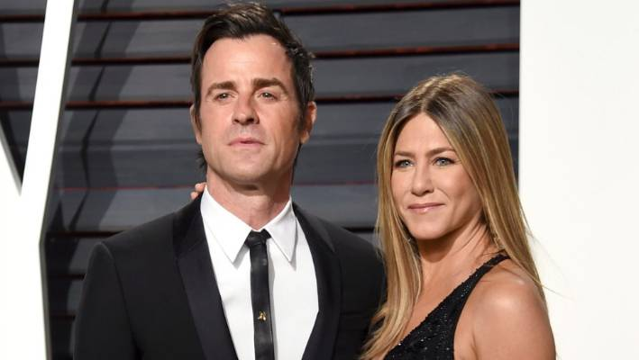 Justin Theroux and Jennifer Aniston separated from Justin Theroux at the end of 2017