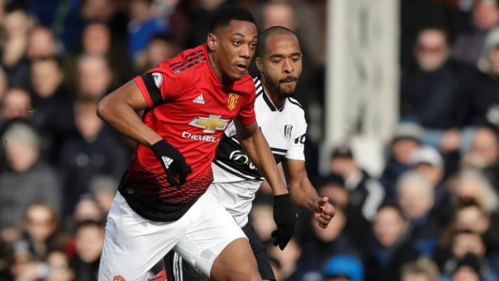 Manchester United's Anthony Martial scores a stunning goal in the 3-0 rout of Fulham at the weekend