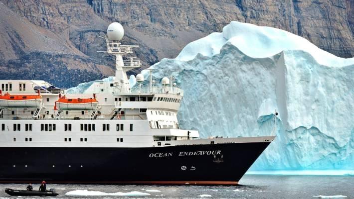 Ocean Endeavour: The start of an eye-opening journey.