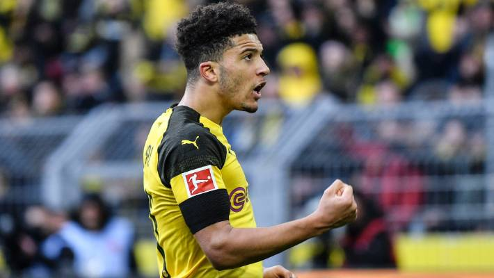Jadon Sancho: Borussia Dortmund flight delayed after England winger forgets passport