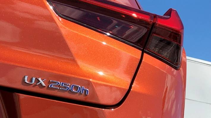 Still no plug, but hybrid powertrain in UX is all-new and unique to this model.